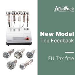 New good price 8pads laser Ultrasonic Liposuction Cavitation Radio Frequency RF vacuum head Weight Loss Machine