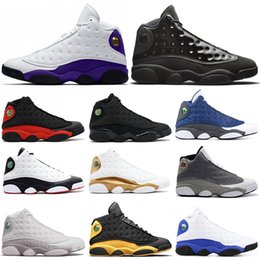 Atmosphere Grey Cap and Gown 13 13s Men Basketball Shoes Black Cat He Got Game Playoff Altitude Hyper Royal Mens Trainers Sports Sneakers