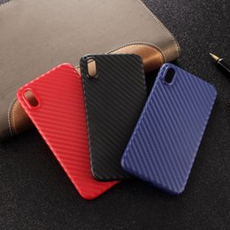 iphone xr Case Phone shell ultra-thin Carbon fiber matte Cover for iPhone xs max xs X 8plus 7plus 6s plus