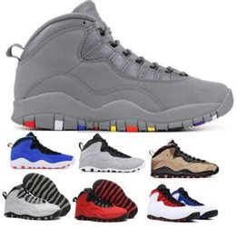 Men 10 10s Basketball Shoes Sneakers 2019 Tinker Orlando Class Of 2006 Cement Chicago Steel Stealth X Red Man Zapatilla Baskets Ball Shoes