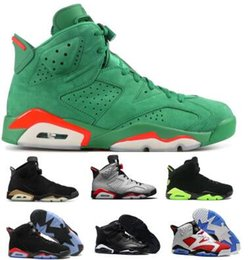 6 6s Basketball Shoes Sneakers Mens Womens Tinker Gatorade Green Infrared 2019 DMP UNC Carmine VI New High Designers Chaussure Trainer Shoes