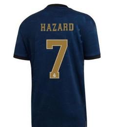 19 20 top quanlity Real madrid kits soccer Jerseys 7 HAZARD ASENSIO Modric Kroos Sergio Ramos Bale Marcelo football shirts