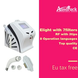 New type E-light + RF Skin Rejuvenation Hair Removal Acne Treatment M300+ machine free and fast shipping