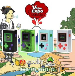 Original WIZ VAPOR PUFF BOY 200W Box Mod Dual 18650 Battery Vape Box Mods Kits VS Geekvape Aegis Legend 200W
