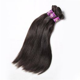 Malaysian virgin straight hair remy IRINA 100% unprocessed remy human hair weaves 6pcs a lot 7A Hair Weaving DHL free shipping