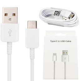 2019 New Fashion S8 Original OEM 1.2M 4FT Type C Fast Charging Cable For Samsung S10 S9 Plus 2A Sync Data High Speed Type-C With Package Box