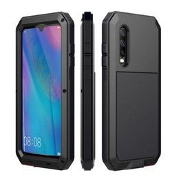 Heavy Duty Waterproof Dropproof Dirtproof Metal Phone Case For Huawei P30 P30 Pro Life Protection Support Dropshipping