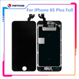 High Tianma Quality Screen For iPhone 6s Plus LCD Screen 3D Touch Digitizer Full Assembly + Home Button+Speaker+Front Camera Full Set