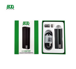 Wholesale BUD Tank Vape Mod 510 Thread vape pen battery with USB charger Free Shipping DHL