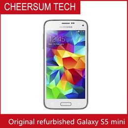 2016 Direct Selling Hot Sale Smartphone Original Unlocked Samsung Galaxy S5 mini G800F Quad-core 3G&4G 16MP Camera GPS WIFI CellPhone