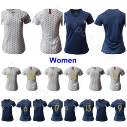 2019 World Cup Women Jersey National Team Soccer LE SOMMER THINEY GAUVIN BUSSAGLIA HENRY RENARD BOUHADDI Football Shirt Kits Uniform Woman