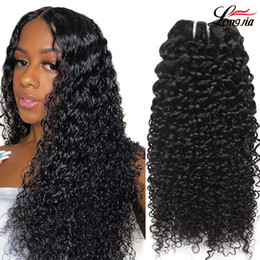 Malaysian Kinky curly Hair Extension Natural color 8a grade unprocessed curly human hair Extension Malaysian virgin hair Bundles