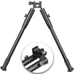 Bipod Adjustable from 9 to 10 Fits standard 20 mm weaver and picatinny rail Quality Aluminum