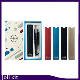 Vape JOLL Starter Kits 280mAh Compatible Smoking Pen Battery USB Charger Cartridge Vape Pen Kits 0268125