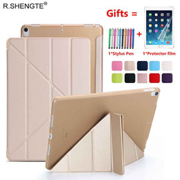 For iPad 2018 Case iPad 6th generation Case Ultra Thin PU Leather Silicone Soft Cover for iPad 9.7 Case A1822 A1823 A1893 A1954