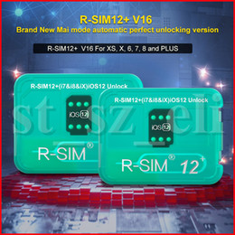 R-SIM 12+ V16 RSIM12+ R-SIM12 + r sim 12+ SIM Card Unlock IOS for iphone 6 7 8 X XS XR MAX Fully Automatic Perfect Stable Version of The New