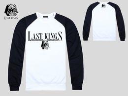s-5xl Free Shipping 8850 hottest last kings hip hop hoodie Men's Hoody Sweatshirt lastkings o-neck mix order