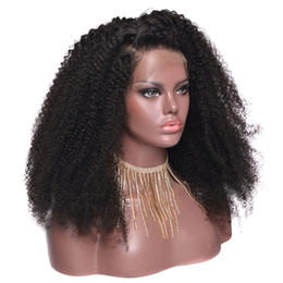 African Bob Kinky Curly 250% Density Brazilian Remy Hair 360 Lace Front Human Hair Wigs Pre Plucked Baby Hair Lacefront Frontal Full End Wig