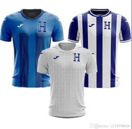 2019 20 Honduras Soccer Jerseys Futbol Camisetas Fútbol Camisa Camisa Maillot Maglia Tops