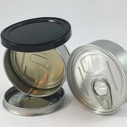 Empty SmartBud Machine Sealed Tin Cans 100ml 3.5 gram Smart bud jar tank dry herb flower Packaging