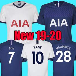 Top thailand quality KANE spurs Soccer Jersey 2018 2019 2020 NDOMBELE ERIKSEN DELE SON jersey 19 20 Football kit shirt Men and KIDS KIT SET