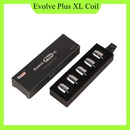 Yocan Evolve Plus XL Wax Coil Quad Quatz Rod Coils With Coil Cap For Evolve Plus XL Dab Pen Kit DHL Free 0266167