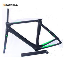 2019 carbon road bike frames bike frame bicycles carbon road frame cycling frameset with fork Fast Free Shipping