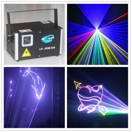 LH-RGB234 ILDA 1.5watt rgb full color laser Holiday light show projector For Christmas and advertising
