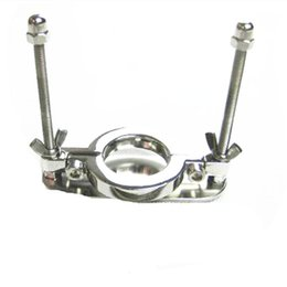 Stainless Steel Cock Ball Torture Testicles Crusher Scrotum Stretcher BDSM Bondage Gear Heavy Play Adult Sex Toys For men