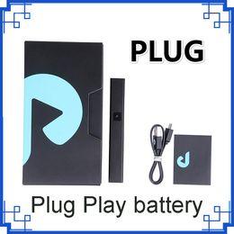 2019 Plug Play battery 500mAh Battery Box Mods With 1.0ml Empty Vape Pod Exotics For 510 Thick Oil Cartridge vs ENZO battery