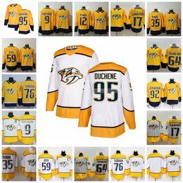 95 Matt Duchene Nashville Predators 59 Roman Josi 35 Pekka Rinne 9 Filip Forsberg 92 Ryan Johansen 4 Ryan Ellis 12 Mike Fisher Jerseys