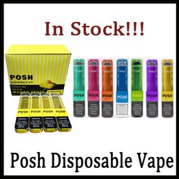 Authentic POSH Mini Disposable Device Kit 280mAh Fully Charged with 1.8ml Cartridge Cotton Coil 400 Puffs VGOD stig Eon Stick Ziip Pod