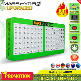 MarsHydro Reflector 480W LED Grow Light Full Spectrum Lamp Indoor Plants Growth&Bloom Switches Hydroponics Led Grow Light For Veg Flowering
