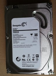 SATA HDD 2TB Hard Drive Seagate Hard Disks Storage 2000GB for Computer and PC Server and CCTV Security Recorder DVR NVR and Other recorder