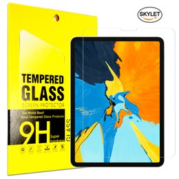 Tablet Glass For iPad Pro 11inch 10.5inch 2019 Mini5 Samsung T585 T385 Screen Protector Tempered Glass Protector Film for iPad air 2 in Box