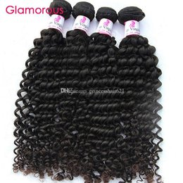Glamorous Human Hair Wholesale Brazilian Hair Curly Weave Good Quality 10 Bundles Peruvian Malaysian Indian Virgin Hair Extensions for women