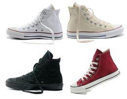 2019 Casual Shoes Flat Canvas Shoes High Low Top Men Women Big kids boys girls Designer Sneakers Big Size High Quality Free Shipping