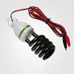 40w Black lamp ultraviolet germicidal DC 12V line screw UV light