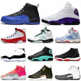 basketball shoes 5s HOT PUNCH Game Royal 12s Concord Bred 11s Cap and Gown 13s Gym Red 9s women mens trainers Sport Sneakers