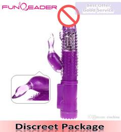 Jack Rabbit Vibrators,G Spot Vibrator Dildo,Thrusting Massager Penis, Feminino Sexo Women Masturbation Adult Sex Toys