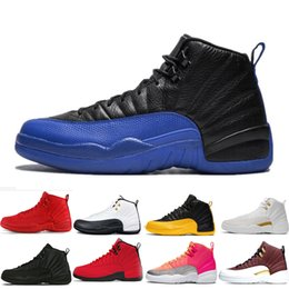 12s 12 Basketball Shoes Winterize WNTR Gym Red white black playoffs Flu Game Royal ball Hot Punch University Gold Taxi sports sneakers