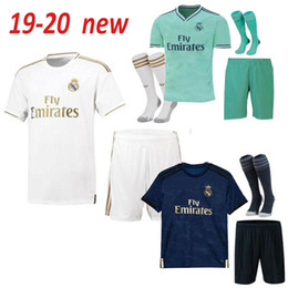 2019 2020 real madrid soccer jerseys 19 20 hazard football shirt BENZEMA bale MARIANO third green home away men football shirt