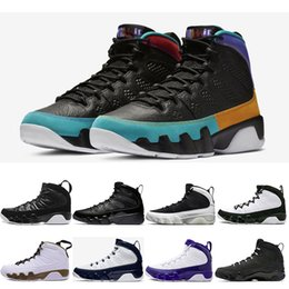 New Dream It,Do It Men basketball shoes 9s UNC LA Bred Space Jam Tour Yellow PE Anthracite sports trainers Sneaker size 7-13