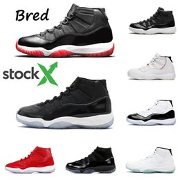 Bred 11 mens basketball shoes 11s Concord GAMMA BLUE UNC Navy Gum HEIRESS Platinum Tint cool grey men trainer sports sneakers
