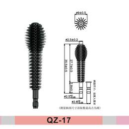 Unique Youniq 3D Fiber Lashes Eyelash Eyebrow Eyeliner Mascara Brushes Wands Applicator for Eyelash Extensions Wholesale in UK Europe QZ-17