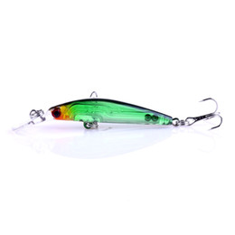 HENGJIA 8colors 8.5cm 4g New minnow lure Fishing Tackle Artificial Plastic hard bait With Treble hook