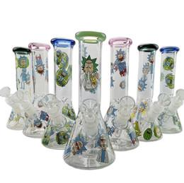 Bong! Glass Bong ICE perk glass water pipe Glass water pipe 18.8mm joint new oil rig bottom beaker bongs