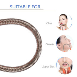Facial Hair Remover Easily Remove Hairs on the Upper Lip Chin Cheeks Epilator Depilation Shaving Threading Beauty Tool