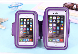 WaterProof Sport Gym Running Armband Soft Pouch Case Cover For iphone x s8 smart phone 500pcs lot