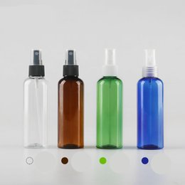 Empty Plastic Spray Bottle 100ML 3.4oz Fine Mist Sprayer by Auger Pump Spray Cap Cosmetic Containers Makeup Atomizer